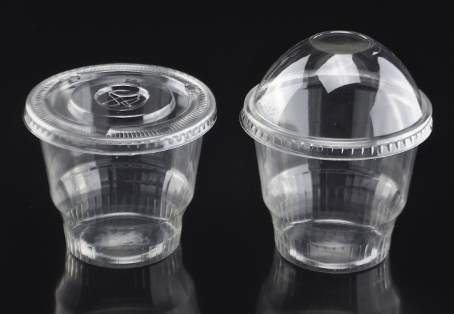12oz Disposable Plastic Pet Dessert Cup 360ml Pet Sundae