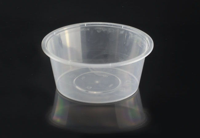 100oz 3000ml Round Microwavable Plastic Container With Lid