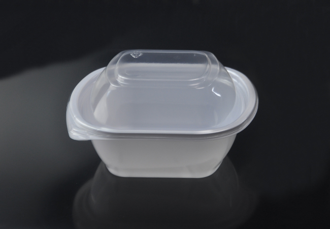 16oz Disposable Plastic Pet Salad Bowls 500ml Pet Salad